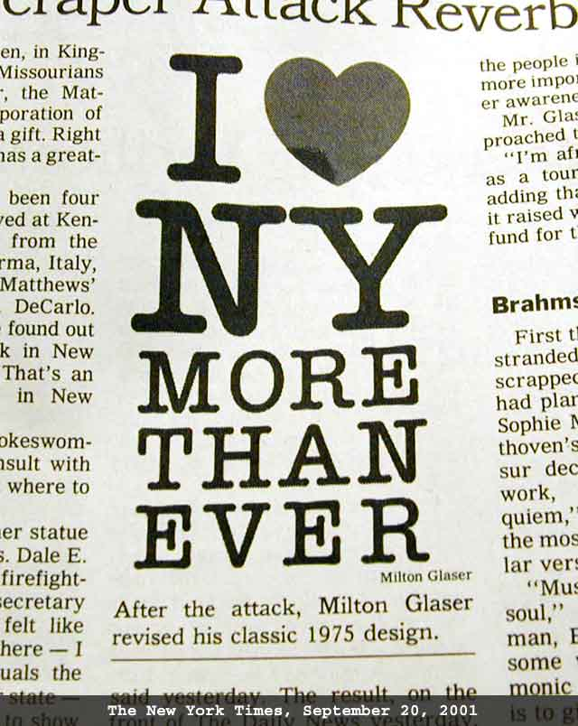 As Originally Developed To Promote Tourism In New York State Not Just Nyc Created By Graphic Artist Milton Glaser It Was First Used In